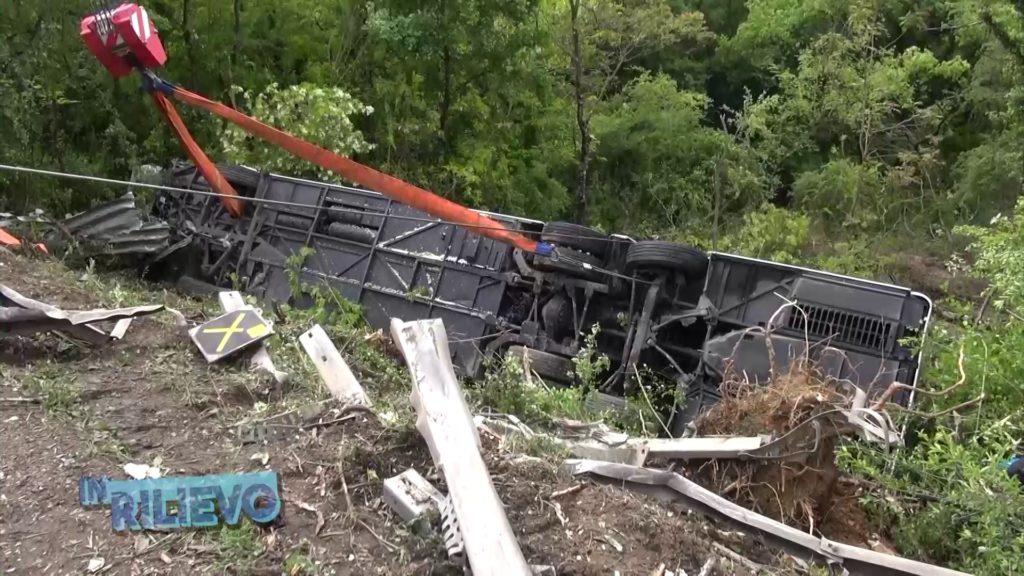 Автобус с туристами, среди которых и молдаване, попал в аварию в Италии