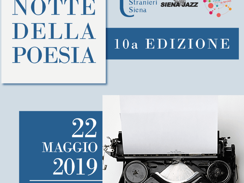 """Università per Stranieri, domani 22 maggio torna la """"Notte della Poesia"""""""