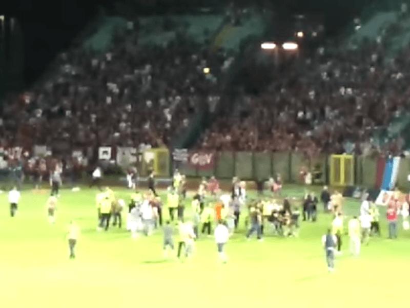 Robur-Reggiana: pena di otto mesi per un tifoso bianconero