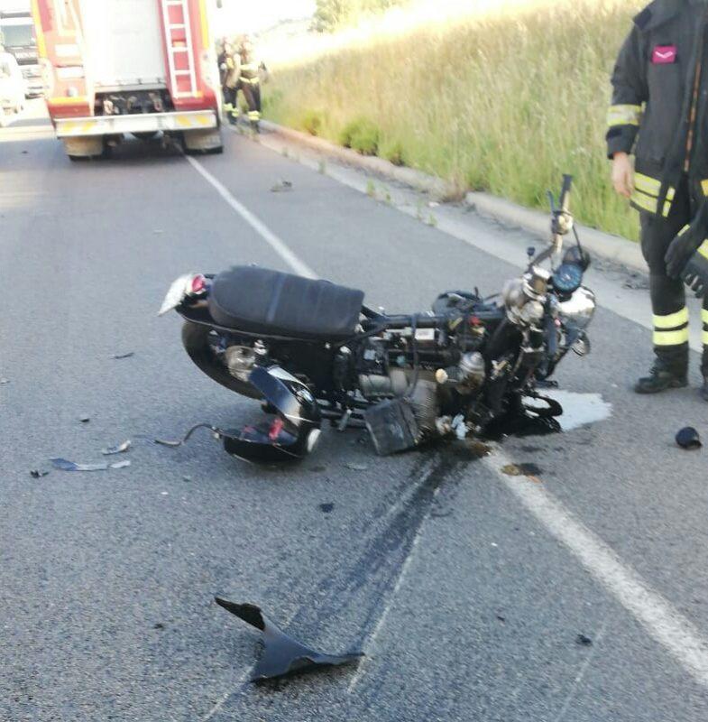 Morto il motociclista coinvolto nell'incidente sulla strada 429 bis