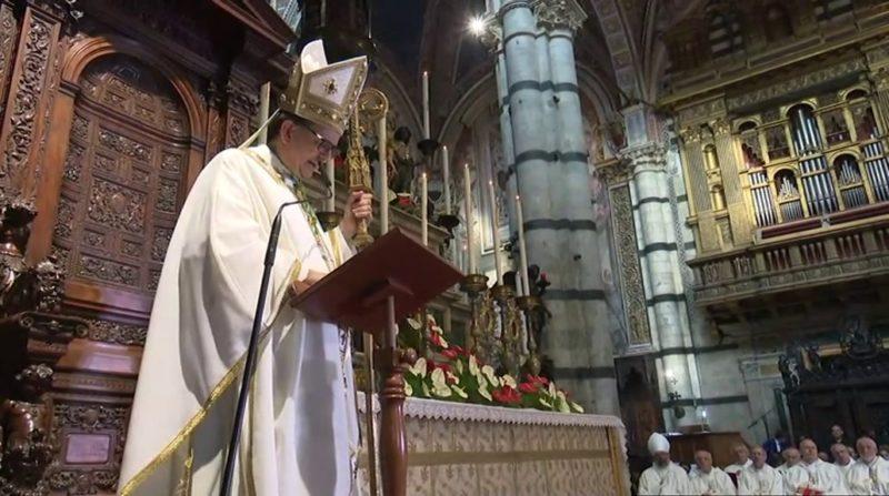Sabato 28 Lojudice diventa Cardinale: campane delle Contrade e rintocchi di Sunto per omaggiarlo