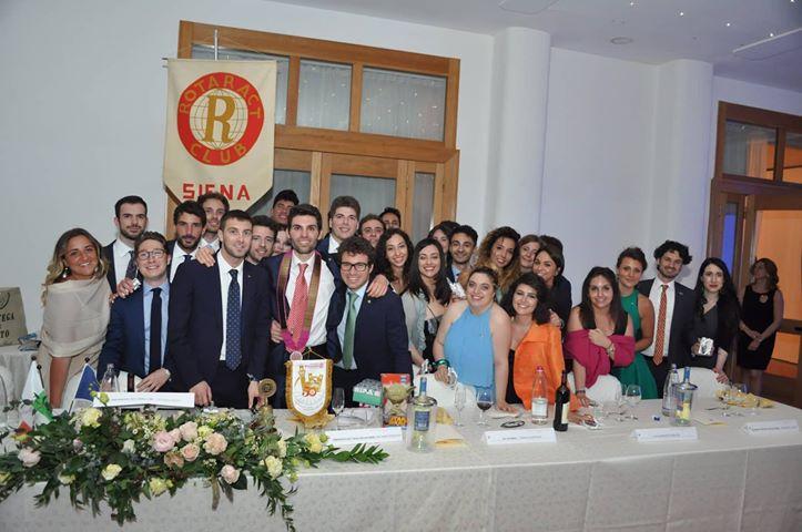 Rotaract Club Siena, Riccardo Intruglio il nuovo presidente
