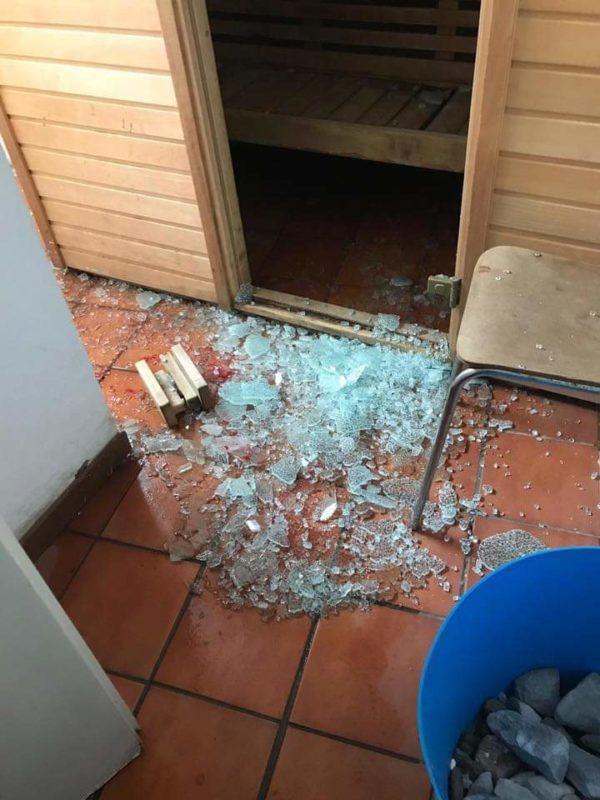 """Silvano Mulas: """"La porta è andata in frantumi, uno spavento fortissimo"""""""