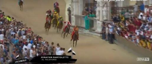 """Bartoletti: """"Il cavallo si è fermato al secondo giro, ho spinto al massimo"""""""
