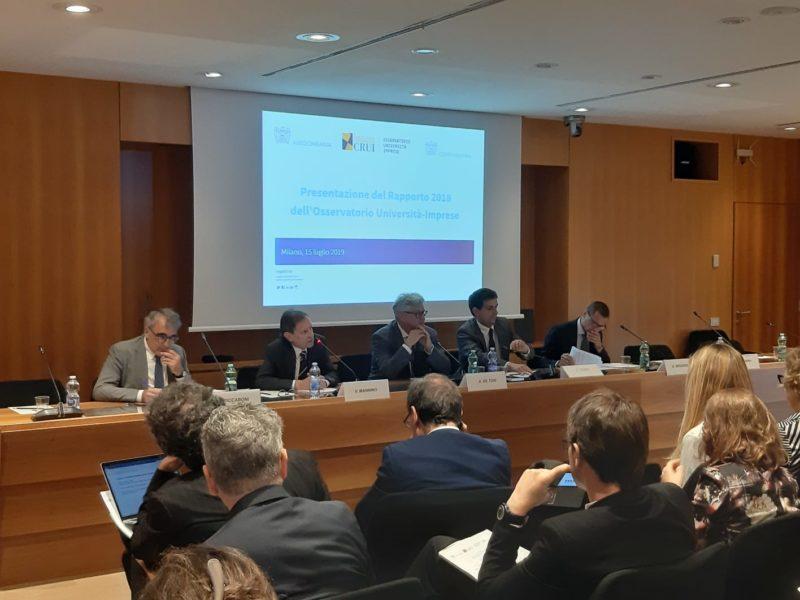 Presentato il rapporto annuale dell'osservatorio Università-Imprese Fondazione CRUI, coordinato dal prof. Riccaboni