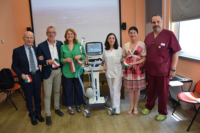 Il cuore delle associazioni senesi: donato innovativo ventilatore polmonare al Dipartimento Cardio-Toraco-Vascolare