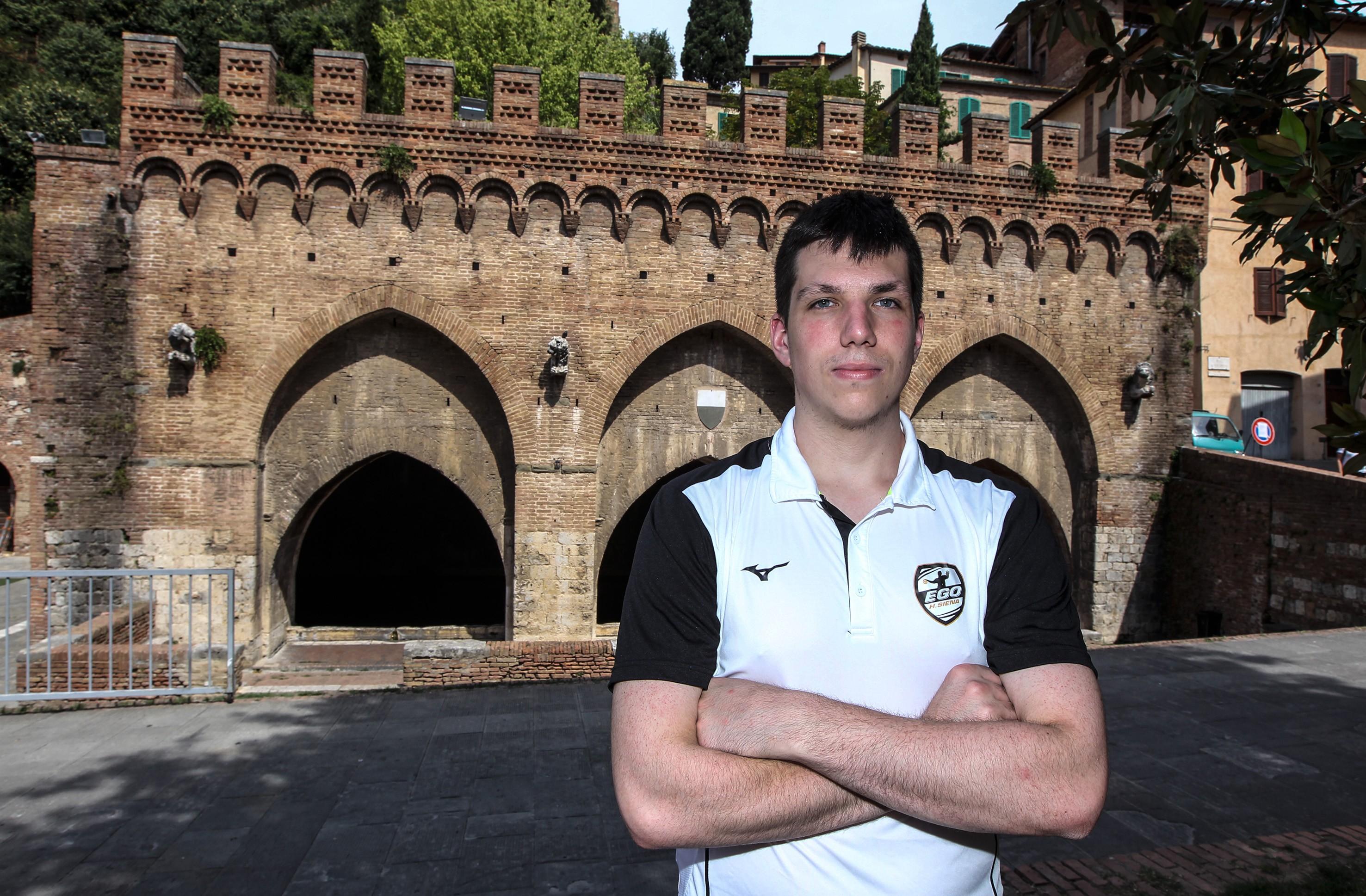 "Ego Handball Siena, Alessandro Leban: ""Siamo già un bel gruppo"""
