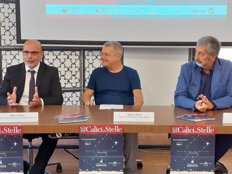 Calici di stelle 2019, il 10 agosto a Siena si brinda di fronte all'arte