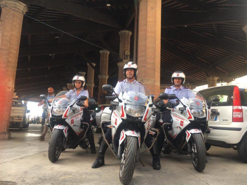Ecco le nuove moto della Polizia Municipale di Siena