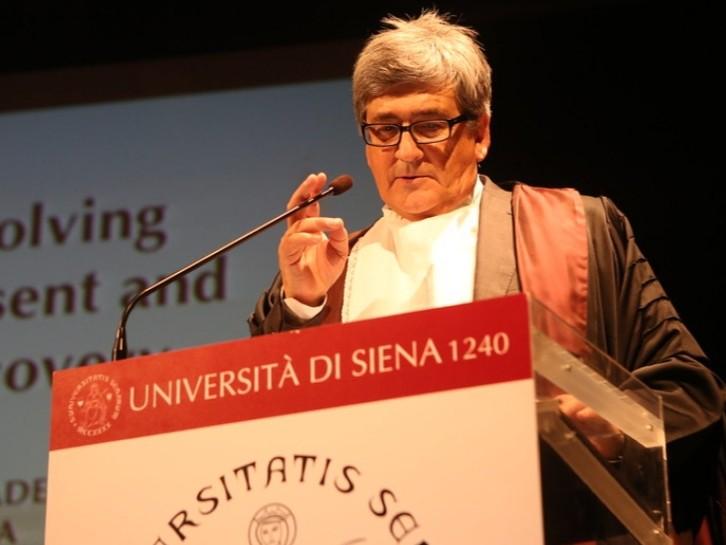Scomparsa professor Botta, il cordoglio dell'Università di Siena