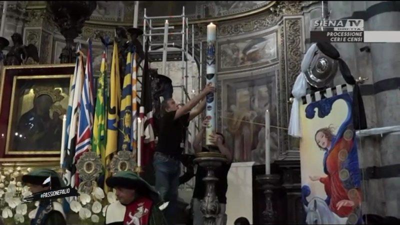 Palio, Corteo dei Ceri in diretta su Siena Tv