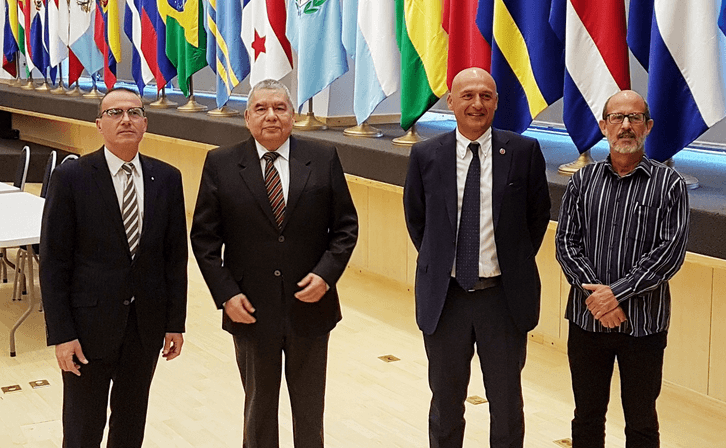 Il rettore Frati ricevuto a Panama al Parlamento Latino-americano per possibili collaborazioni con l'Ateneo