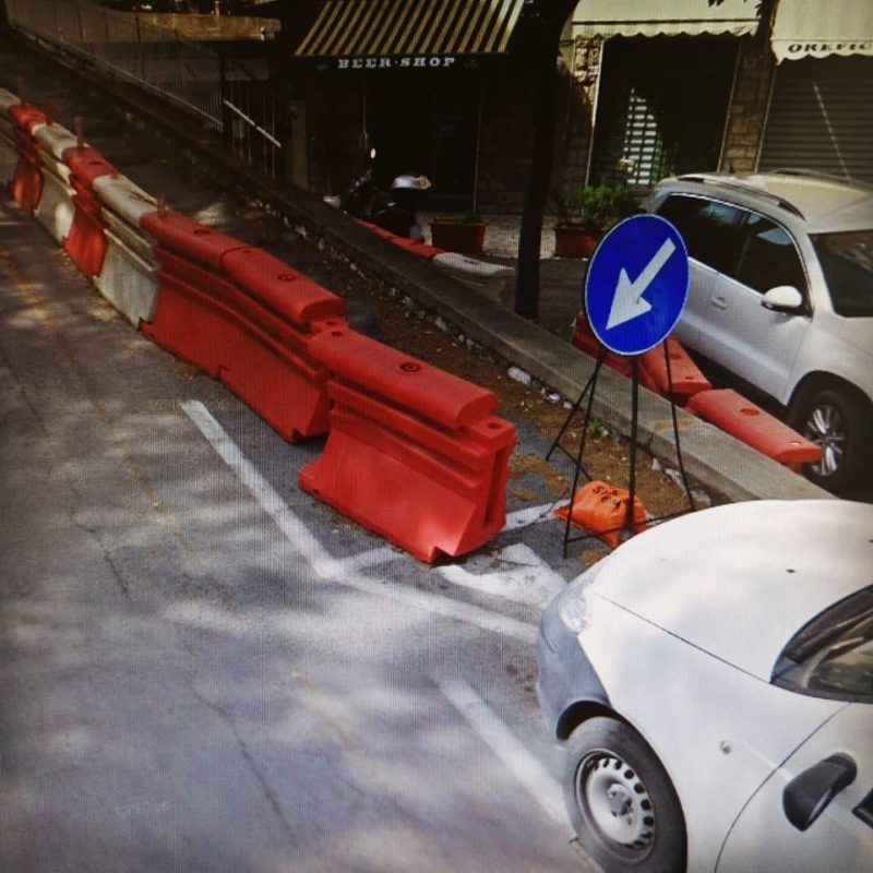 Sarà messo in sicurezza il muro in via Piccolomini al Petriccio