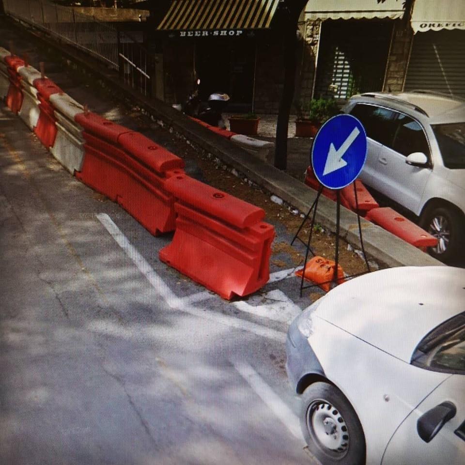 Sar messo in sicurezza il muro in via piccolomini al for Muro robur