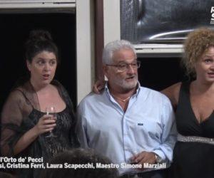 Concerto all'Orto de' Pecci – Altero Mensi, Cristina Ferri, Laura Scapecchi, maestro Simone Marziali