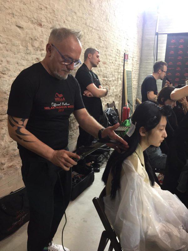 Il salone senese di Luigi Raimo è Official Hair Stylist della Milano Fashion Week 2019