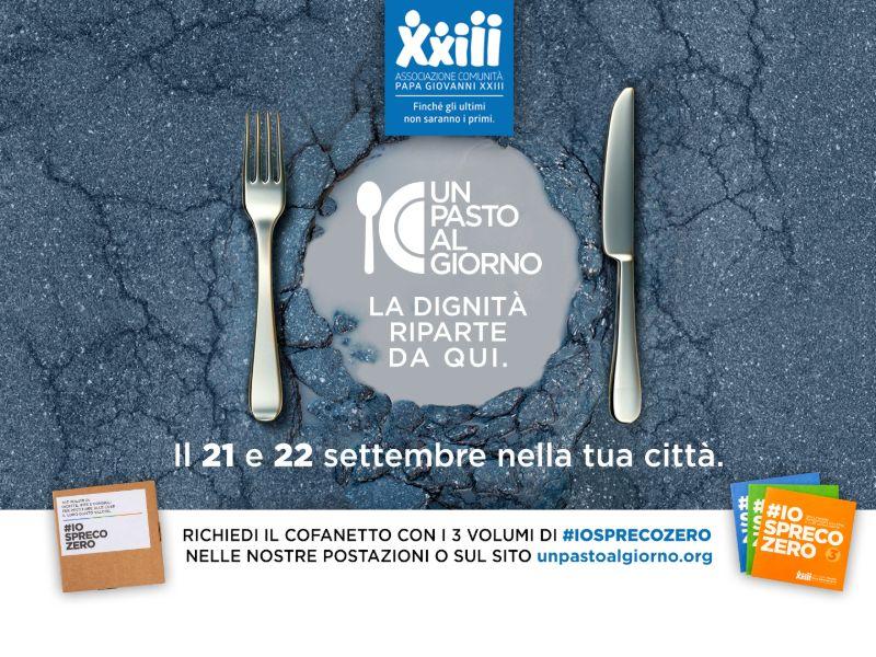 """Arriva a Siena l'iniziativa solidale """"Un pasto al giorno"""" tra cibo, solidarietà e """"sharing humanity"""""""