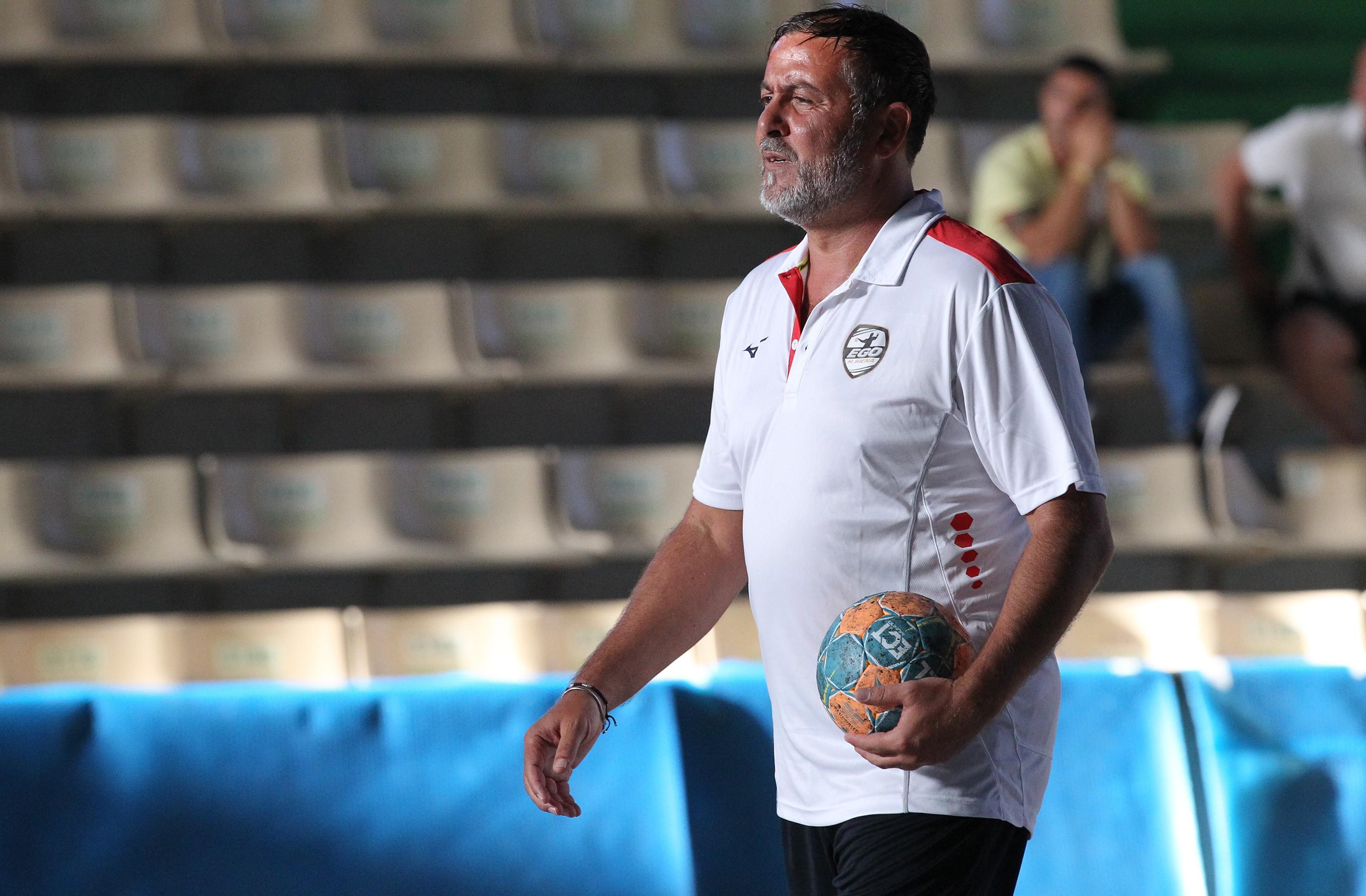 """Ego Handball Siena, coach Alessandro Fusina: """"Siamo ben preparati e convinti di poter disputare una buona gara"""""""