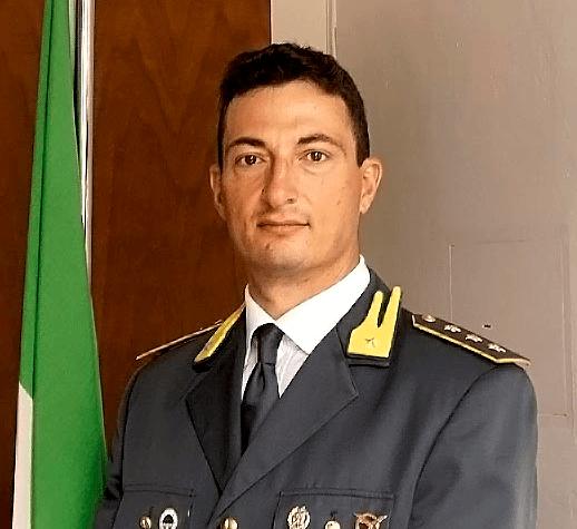 Capitano Ivan Cesare nuovo comandante del gruppo Guardia di Finanza di Siena