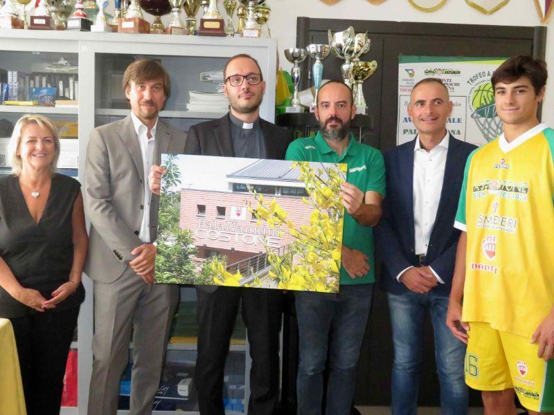 Costone, Nannini nuovo sponsor: griffata maglia e PalaOrlandi