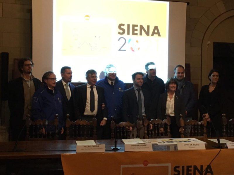 Comitato Siena Città Europea Sport, Gheda fuori. Guglielmo Ascheri coordinatore