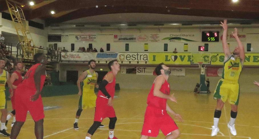 Derby Virtus-Costone di Coppa Toscana, la spuntano i rossoblu 69-62