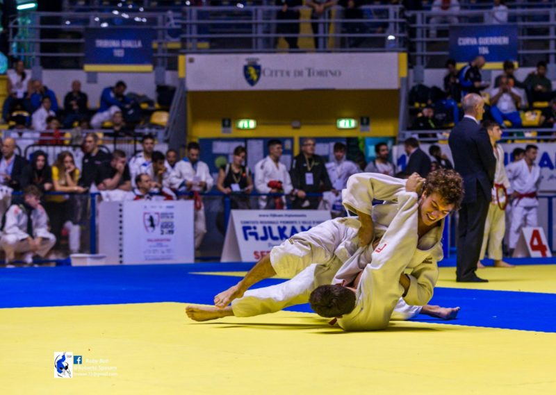 Cus Siena Judo: Simone Muzzi si mette in mostra nel Trofeo Città di Torino