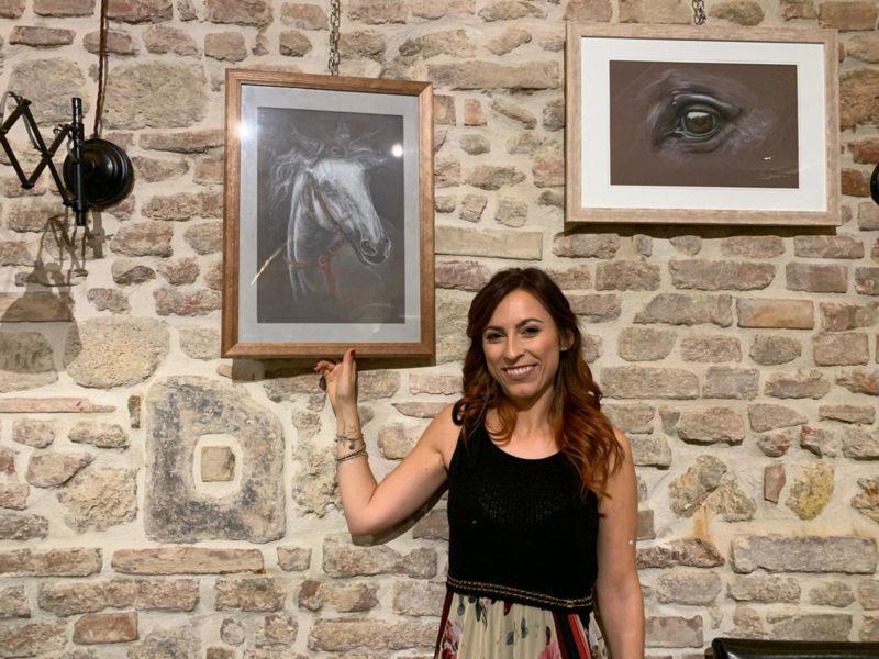 """""""Frammenti di emozioni"""", la mostra di pittura dell'artista Sara Guerrini"""