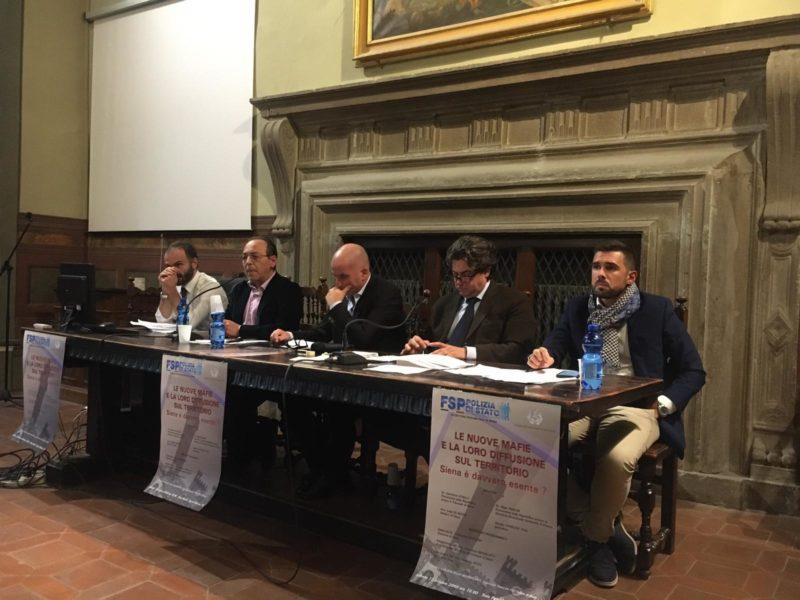 """Convegno """"nuove mafie, Siena esente?"""": """"Città appetibile, Contrade presidio fondamentale"""""""