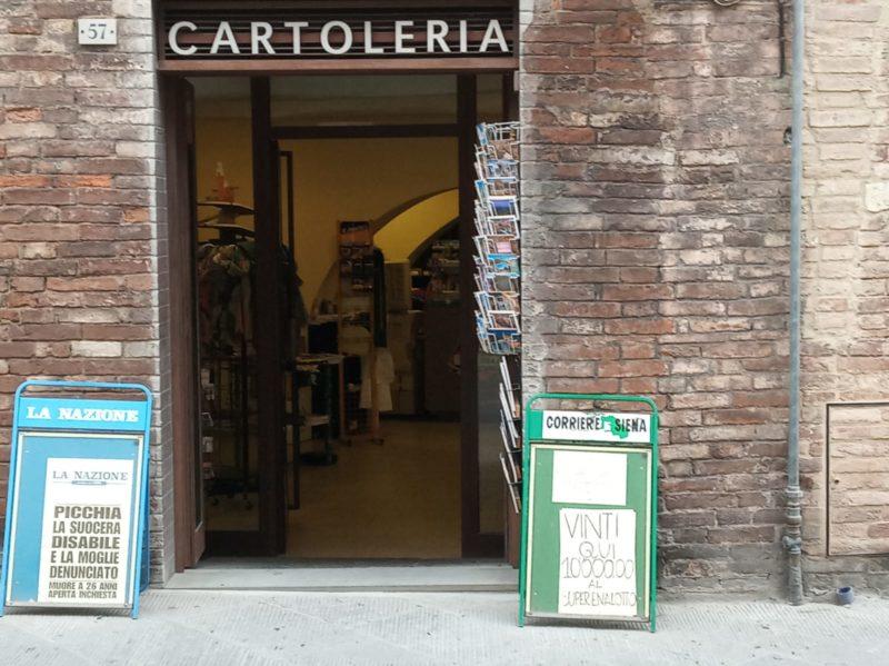 SuperEnalotto, vinti 10mila euro alla tabaccheria Sportoletti in Pian dei Mantellini