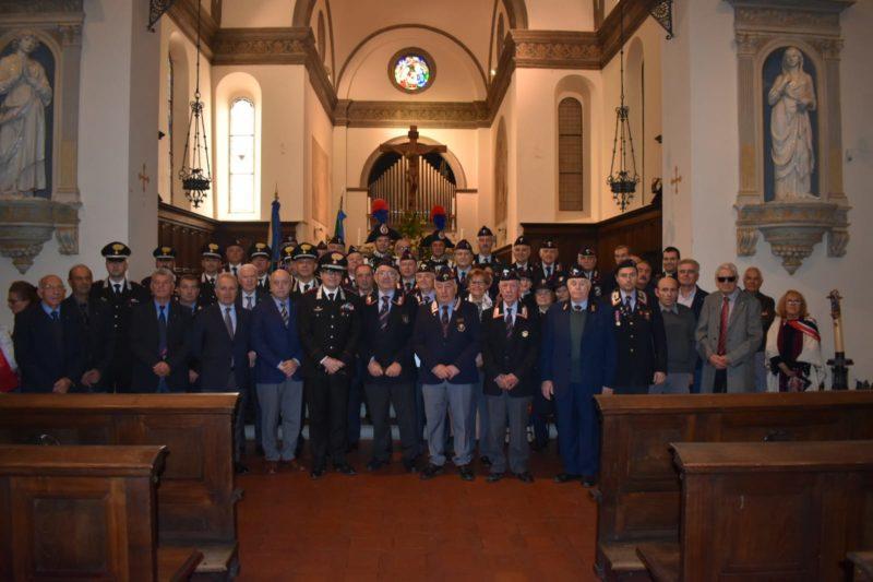 Associazione Nazionale Carabinieri Siena, in 150 al convivio annuale
