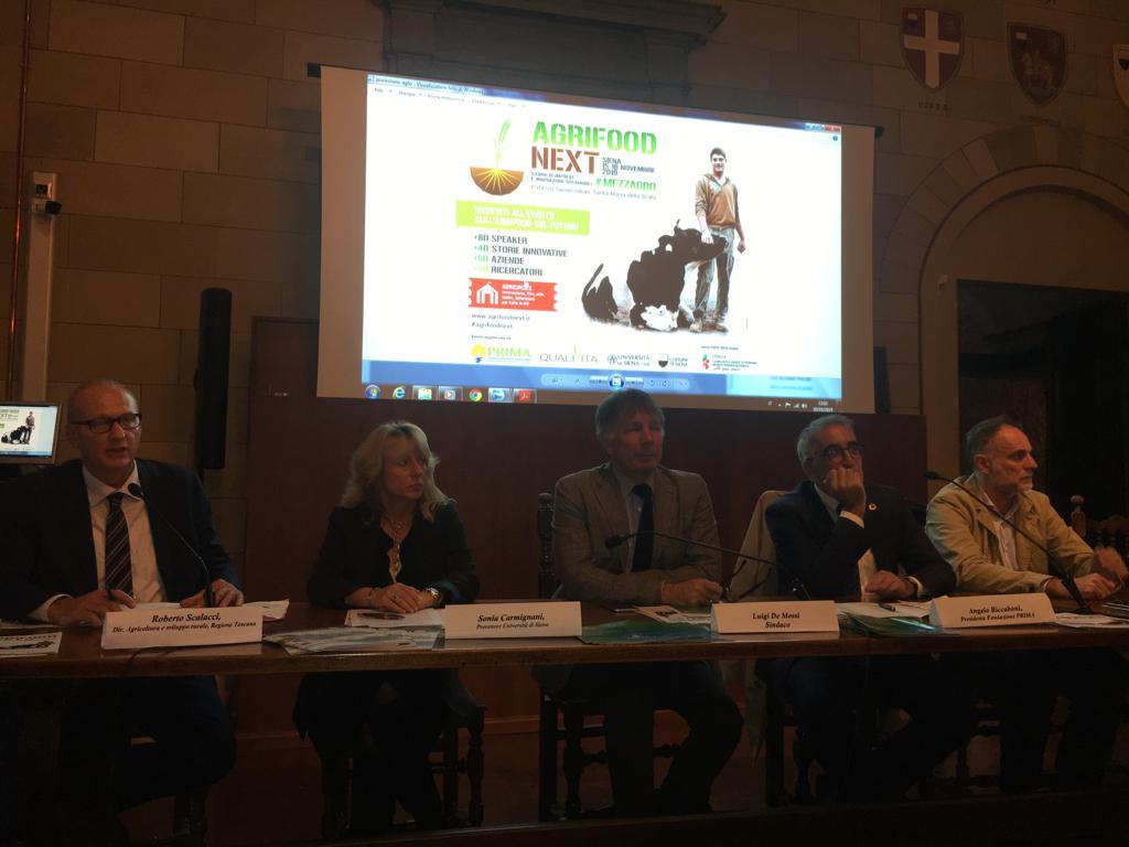 """Il 15-16 novembre al Santa Maria della Scala ecco """"Agrifood Next"""""""