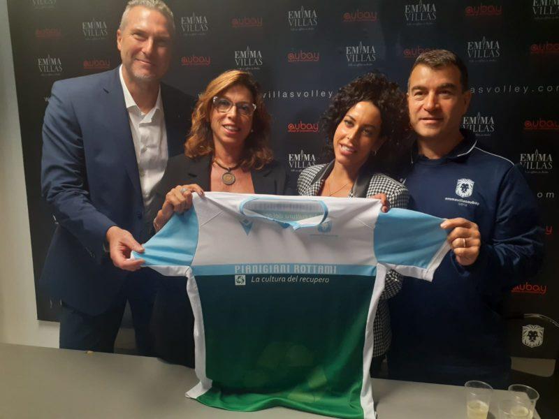 Emma Villas, presentato lo sponsor Pianigiani Rottami