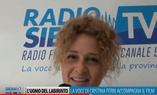 """La voce di Cristina Ferri accompagna """"L'uomo del labirinto"""" con Dustin Hoffman e Toni Servillo"""