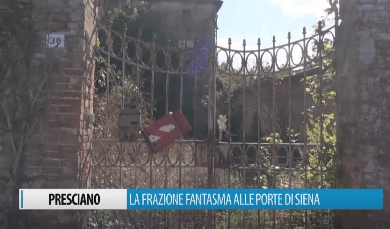 Presciano, la frazione fantasma alle porte di Siena