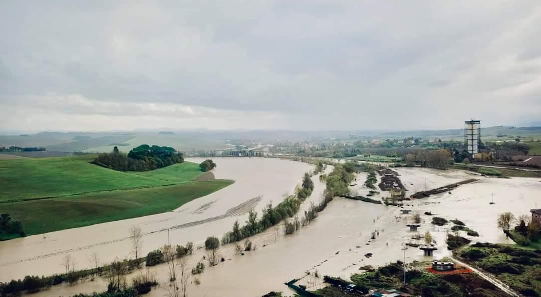 Maltempo, le strade e i ponti chiusi in provincia - Radio Siena Tv - RadioSienaTv