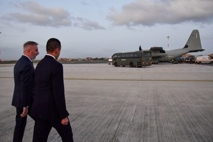 Il militare senese ferito in Iraq torna in Italia