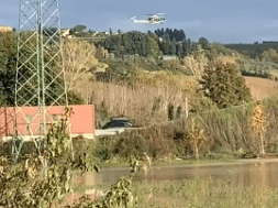 elicottero maltempo