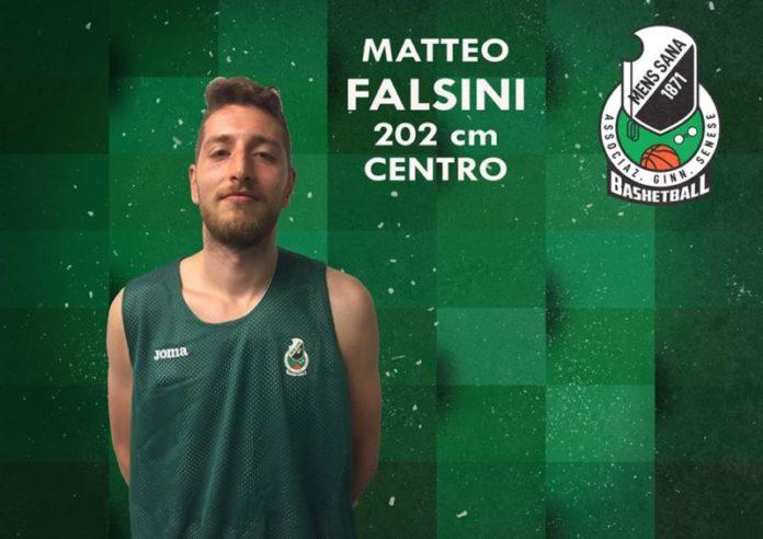 Rinforzo in casa Mens Sana: arriva il centro Matteo Falsini
