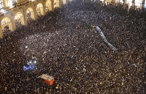 """""""Siena non si Lega"""": le """"sardine"""" sbarcano anche in Piazza del Campo?"""