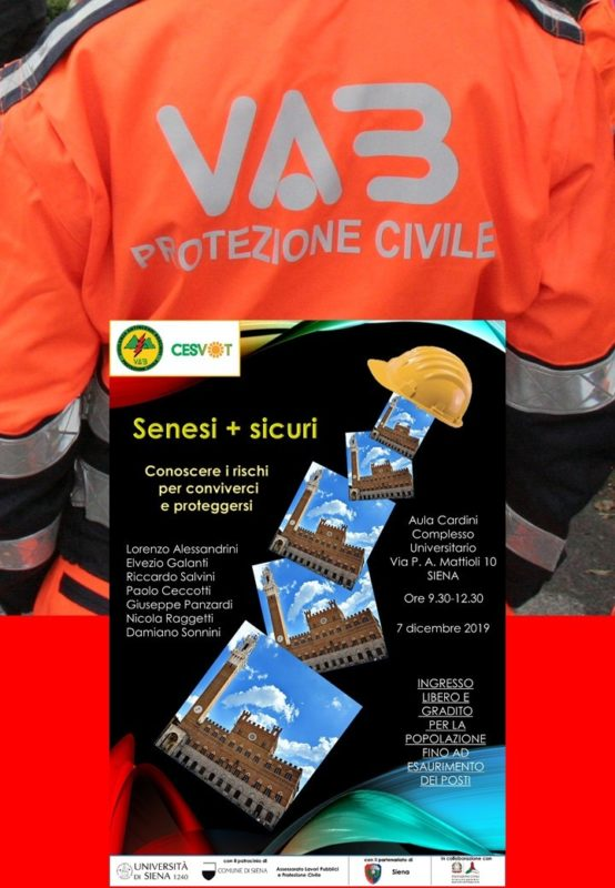 VAB Toscana, conoscere i rischi per conviverci e proteggersi