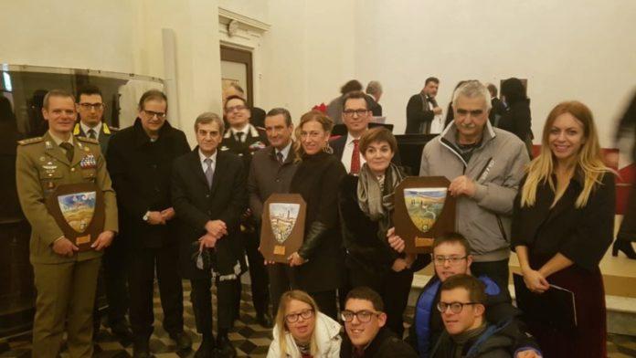 """""""Terra di Siena"""", il premio va alla Folgore, associazione Le Bollicine e Sara Cafarelli"""