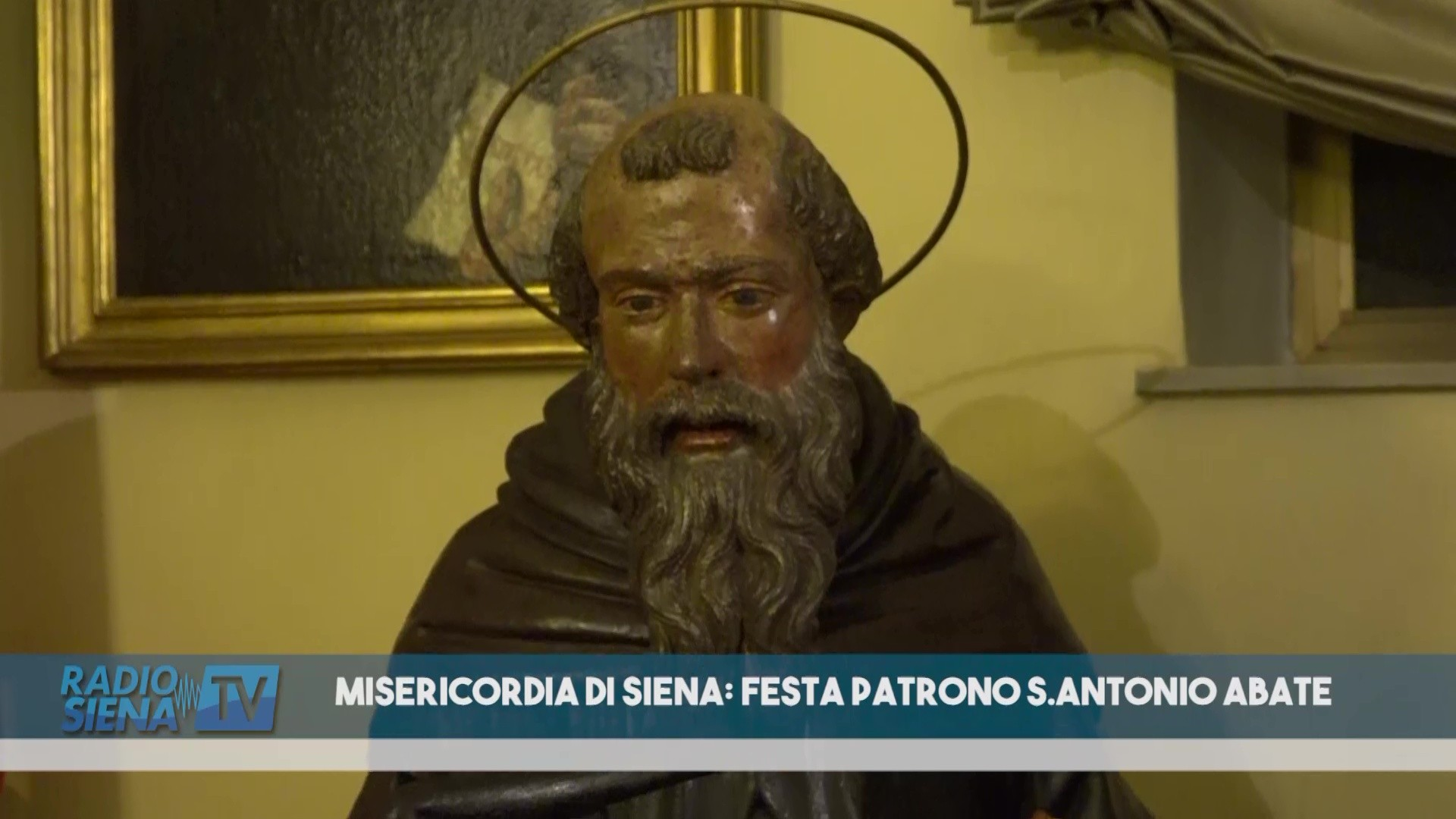 MISERICORDIA DI SIENA: FESTA PATRONO S.ANTONIO ABATE