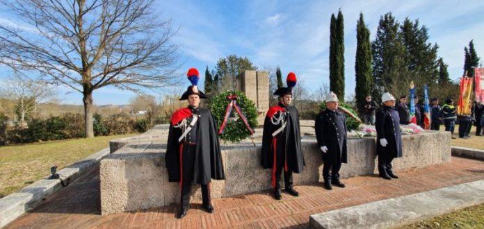 Commemorazione Savastano e Tersilli, le parole del comandante provinciale Stefano Di Pace