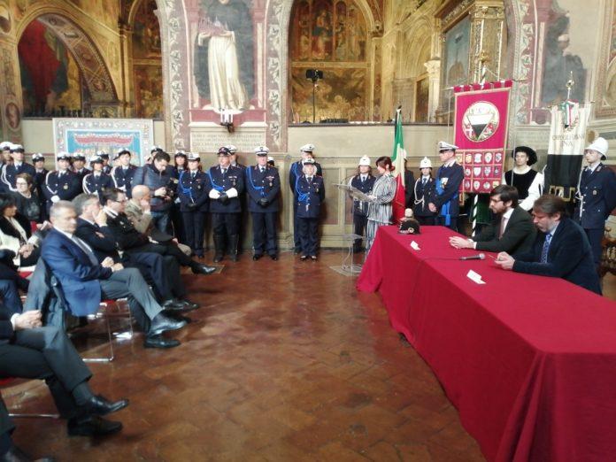 Il corpo di Polizia Municipale di Siena celebra il 171° anniversario dalla fondazione