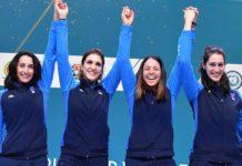 """Alice Volpi podio in Coppa del Mondo ed oro con il """"Dream Team"""""""