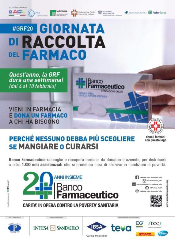 Giornata raccolta farmaco: Siena protagonista con 26 farmacie