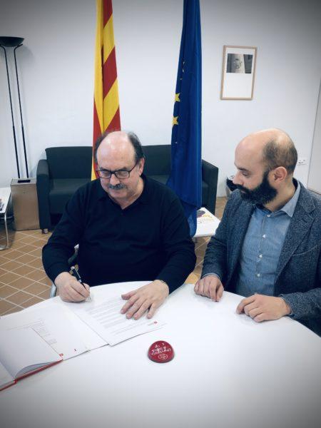 L'Università di Siena firma in Catalogna un accordo quadro con l'Università di Vic