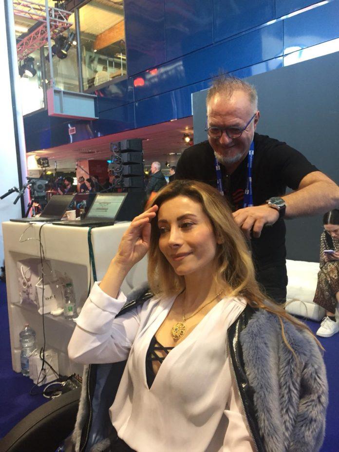 La creatività dell'hairstylist senese Luigi Raimo al Festival di Sanremo