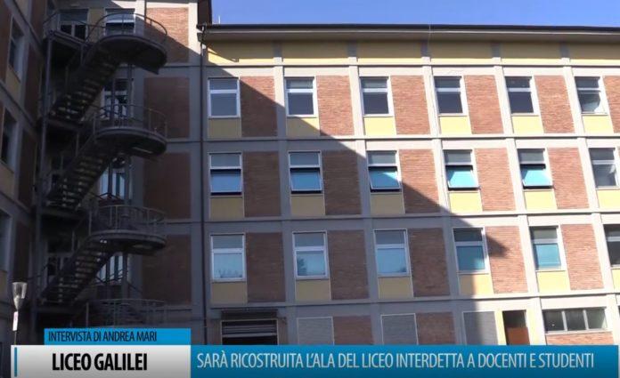 Liceo Scientifico, sarà ricostruita l'ala interdetta a docenti e alunni